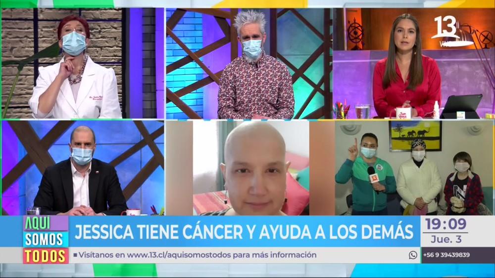 "Dra. Carolina Herrera compartió dolorosa noticia en Aquí Somos Todos: ""Un cariño estés donde estés"""