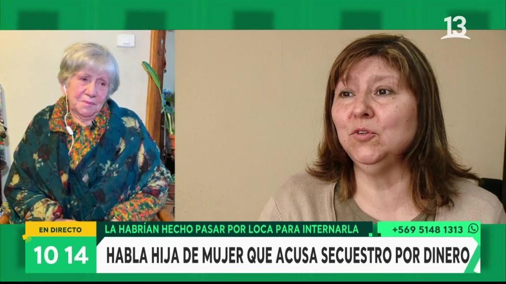 Janet, hija de Laura Rebolledo | Bienvenidos | Canal 13