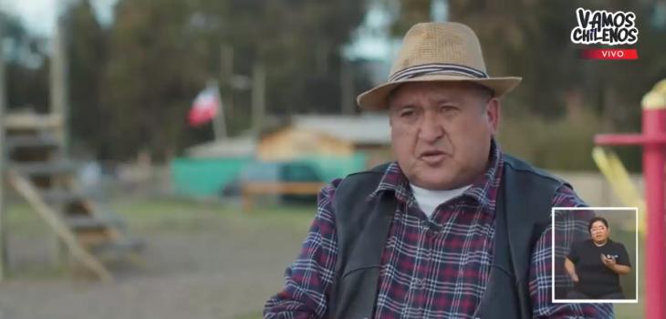 'El Farkas de los pobres' se ganó ovación en 'Vamos Chilenos' por su tremenda labor en ollas comune