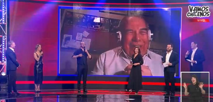 el incómodo momento de Juan La Rivera en 'Vamos Chilenos'