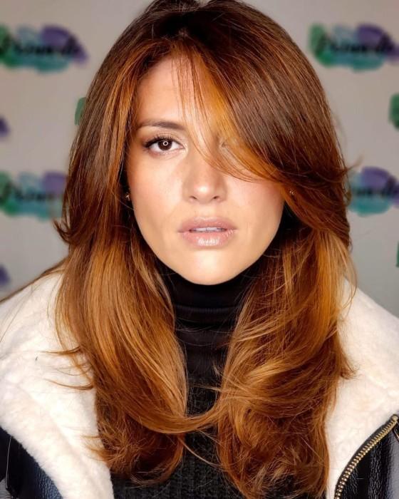 Karen Bejarano cambia de look