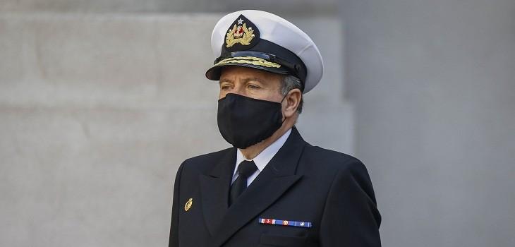 comandante en jefe de la armada julio leiva