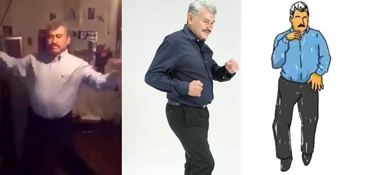 La increíble historia de hombre de 50 años que se convirtió en fenómeno viral por sus pasos de baile