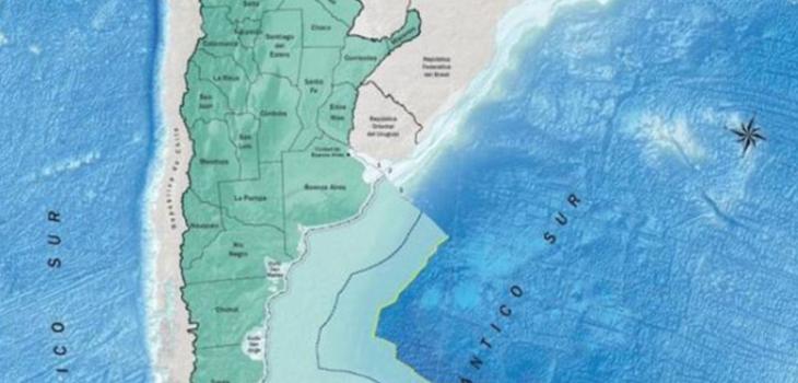 Medios trasandinos difunden nuevo mapa de Argentina que anexa territorio chileno
