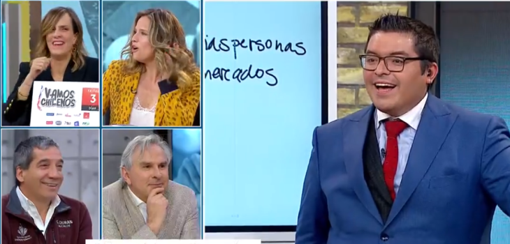 la broma de Moreira al abogado Logan en Mucho Gusto que hizo recordar a Piñera