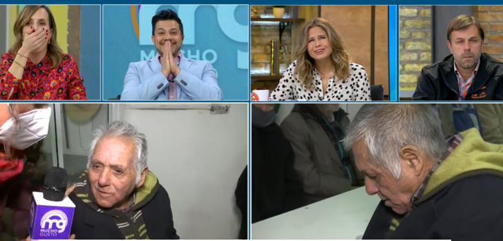 Adulto mayor perdido y con problemas de memoria fue ayudado en vivo por 'vidente' en Mucho Gusto