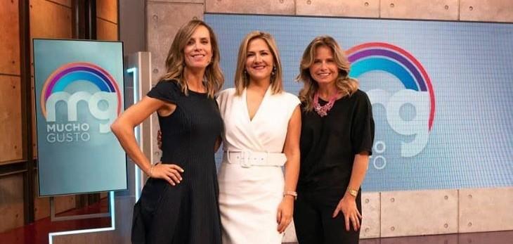 Michelle Adam, Soledad Onetto y Diana Bolocco