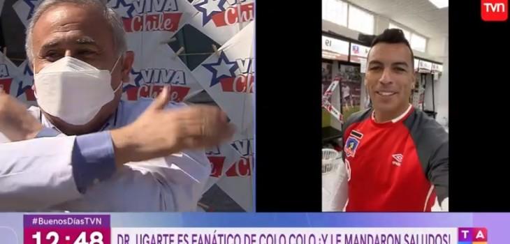 Dr. Ugarte y Esteban Paredes
