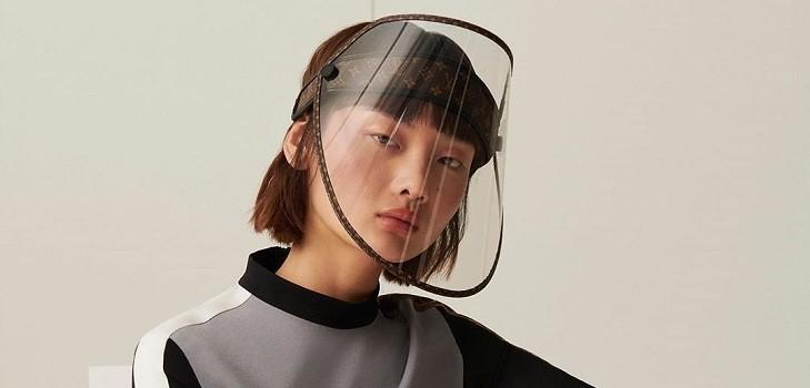 Escudo facial Louis Vuitton