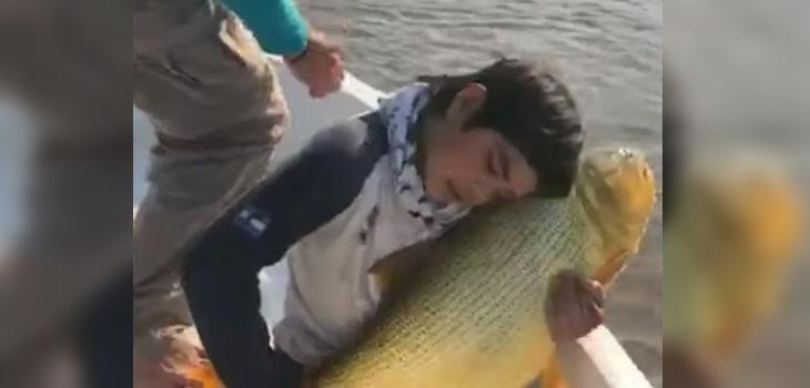 dionisio tadey pez dorado viral