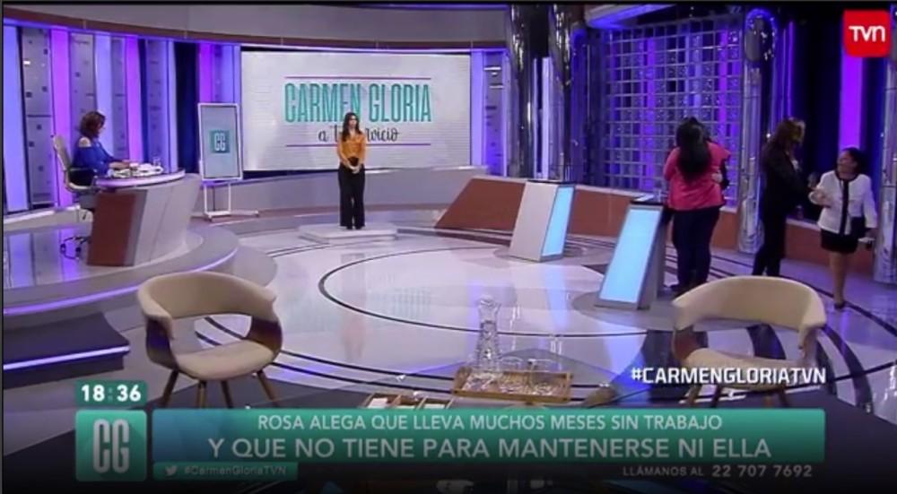 Carmen Gloria a tu servicio | TVN