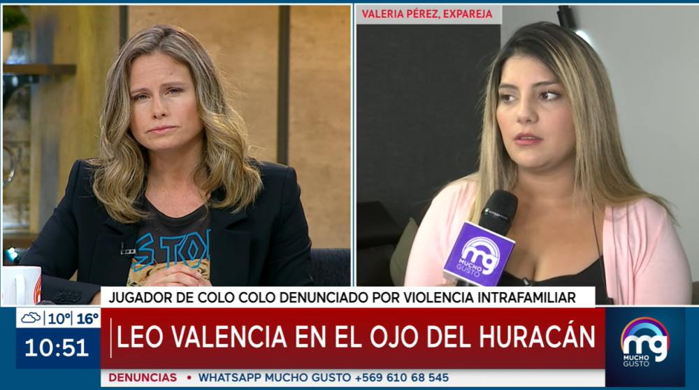 La indignante recomendación que recibió expareja de Leo Valencia cuando lo denunció por primera vez