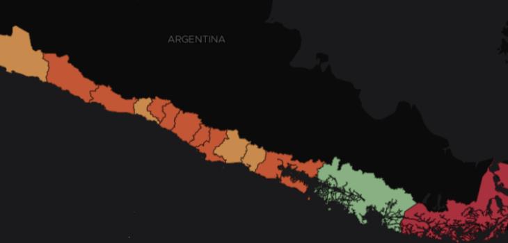 Punta Arenas, Puente Alto y Concepción siguen liderando a comunas con más casos activos del país