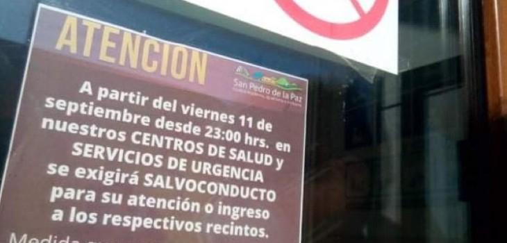 Acusan que Cesfam de San Pedro exige salvoconducto para urgencias