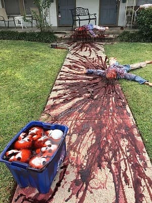 Casa terrorífica de Halloween