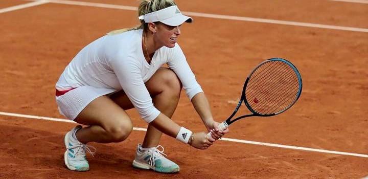 Alexa Guarachi hace historia en Roland Garros y avanza a las semifinales del dobles
