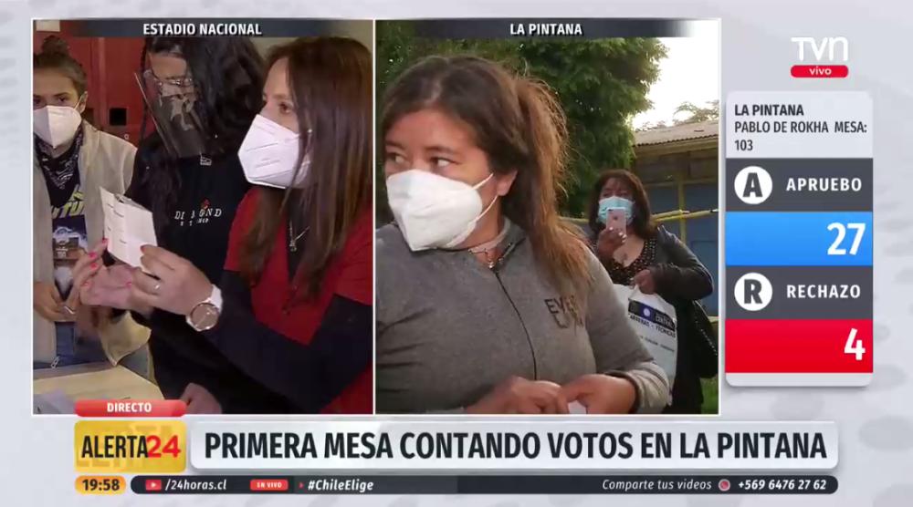 """Mesa de La Pintana cerró antes y se emitió discusión en vivo: """"Sea más hombre para sus cosas"""""""