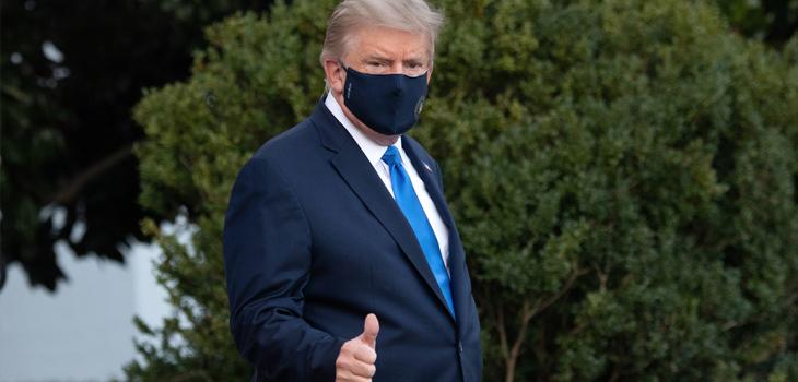 Líderes mundiales envían mensajes de apoyo a Trump tras contraer COVID