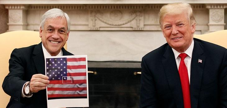 Sebastián Piñera y Donald Trump