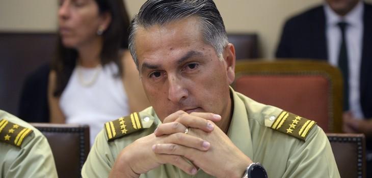 Mario Rozas descarta renunciar a Carabineros: