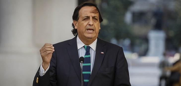 Victor Perez, ministro del Interior y Seguridad Publica,