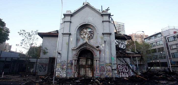 Detenido por quema de iglesias