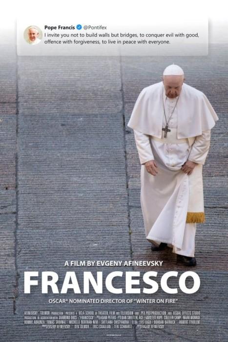 "Afiche del documental ""Francesco"""