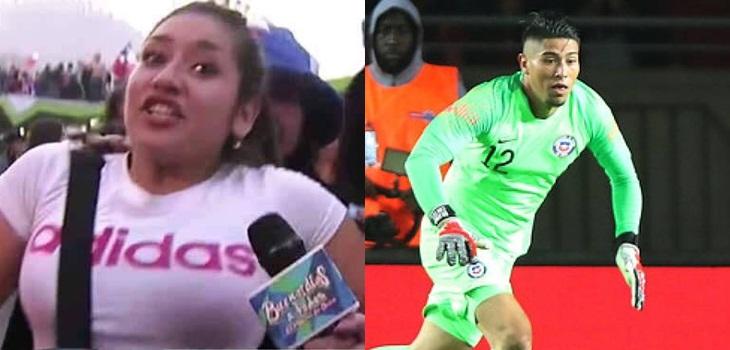 Gritos de Brayan Cortés se roban la película en Chile vs Colombia