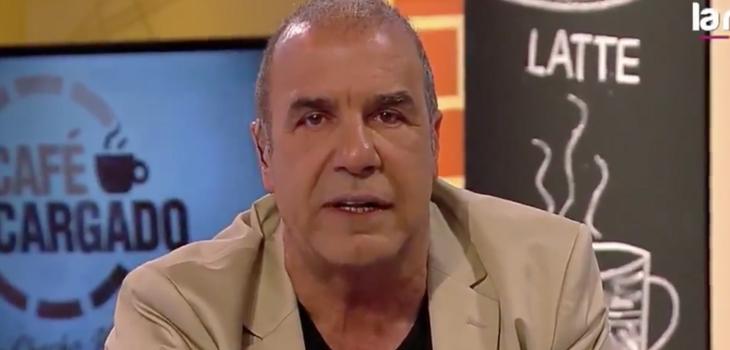 El enojo de Checho Hiriane por rating de su programa