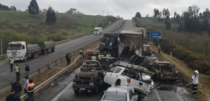 Camionero imputado por colisión múltiple en Victoria queda con arresto domiciliario