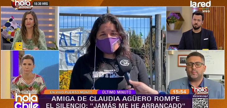 Hermana de Claudia Agüero sobre Marcela
