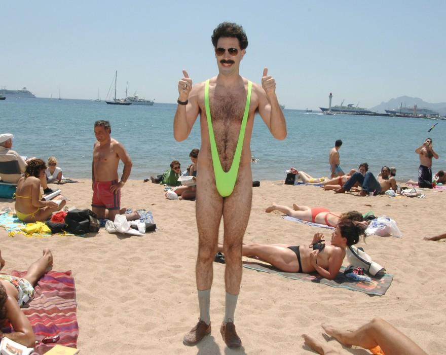 """El body de corte alto de Shein que ha sacado risas en redes: fue comparado con """"mankini"""" de Borat"""