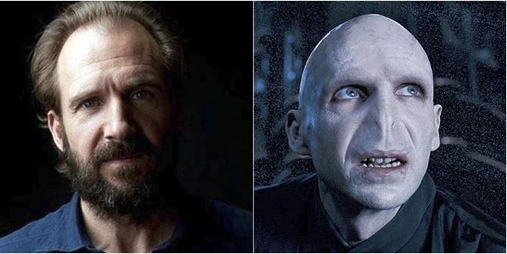 Ralph Fiennes como Lord Voldemort | Warner Bros.