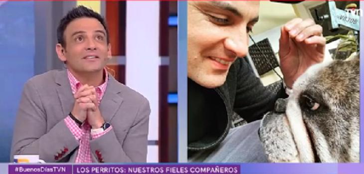 Gonzalo Ramírez sobre perro de Felipe Camiroaga