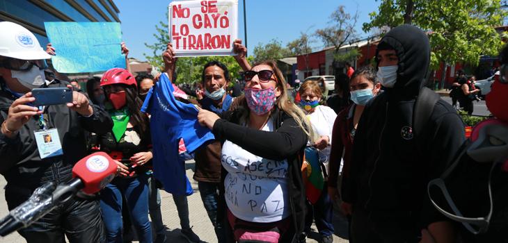 madre de joven que cayó al río mapocho pide justicia