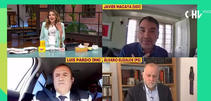 Diputado Macaya y debate con Monserrat Álvarez por defender a Carabineros