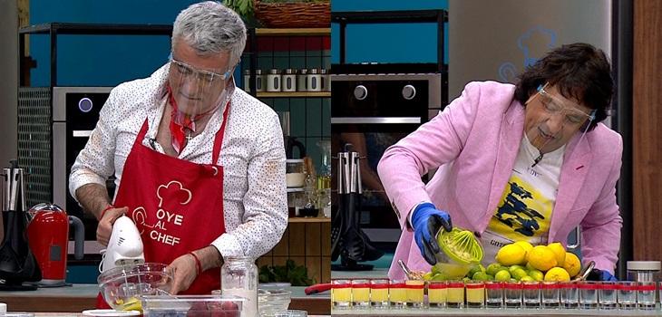 Humoristas en Oye al chef