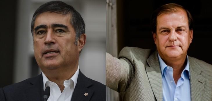 Desbordes bromea con candidatura presidencial de Francisco Vidal: