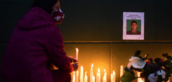 velatones en comisarías del país por carabinero asesinado en Metrenco