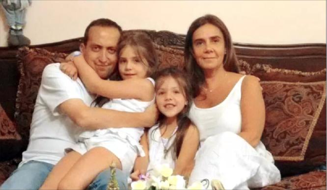 Rodrigo Panes y su familia   LUN