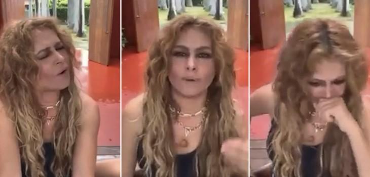 Paulina Rubio rompió el silencio tras polémico 'live':