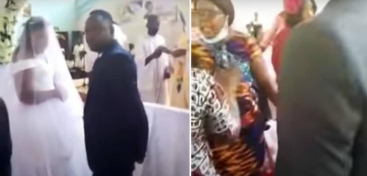 Matrimonio de Zambia terminó en caos luego que fuera interrumpido por la verdadera esposa del novio