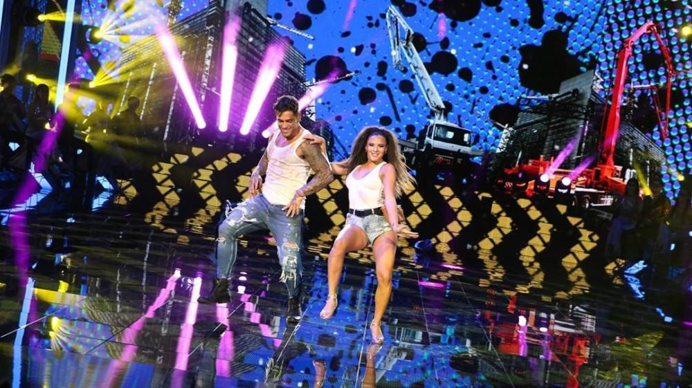 Thiago Cunha y Chantal Gayoso
