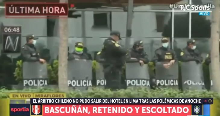 custodia policial julio bascuñan