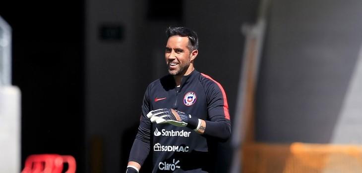 Claudio Bravo envió mensaje a La Roja