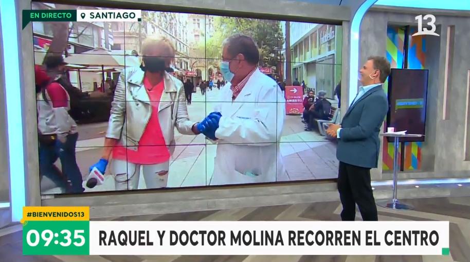 Doctor Molina en  Bienvenidos