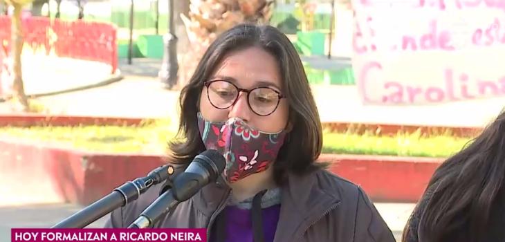 Prima de Carolina Fuentes reveló detalles de la relación entre víctima e imputado: Él la maltrataba