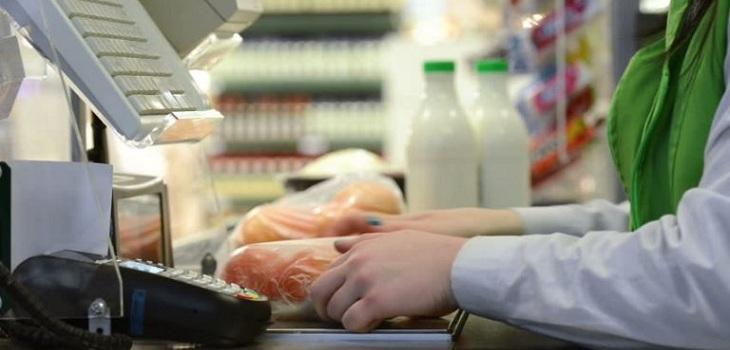 mujer indeminizacion supermercado anciana
