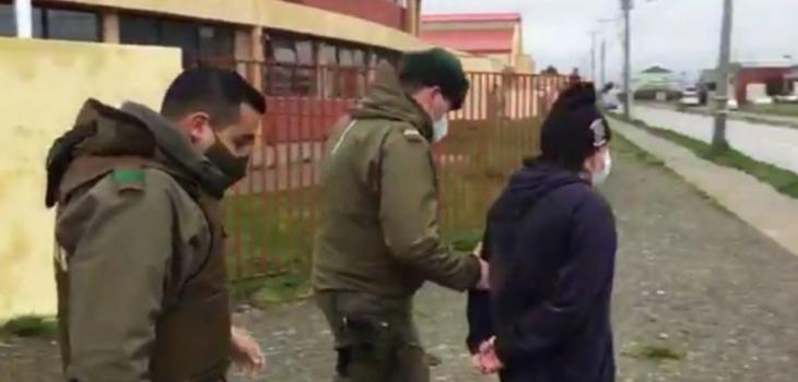 Vocal de mesa llegó ebrio y terminó detenido en Punta Arenas