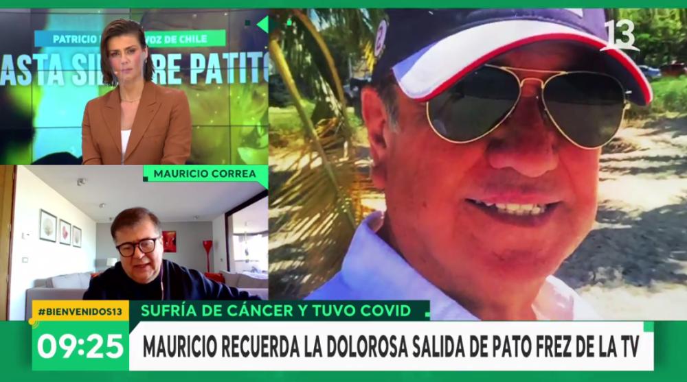 """Mauricio Correa recordó cómo Camiroaga evitó que Patricio Frez se fuera del """"Buenos días a todos"""""""